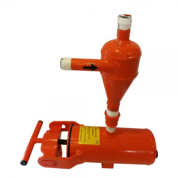 Sandfilter & Partikelfilter Hydrozyklon F 710 für versandete Brunnen