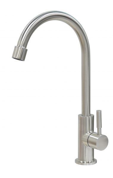 Design Edelstahl Wasserhahn für Untertischsysteme von Carbonit, Prime Inventions und Andere