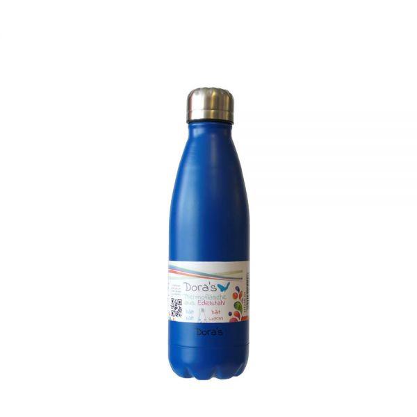 Dora's Edelstahl Trink- & Isolierflasche 0,5 l verschiedene Farben