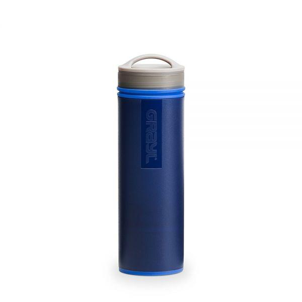 Grayl Ultralight Outdoor- und Reisewasserfilter, blau