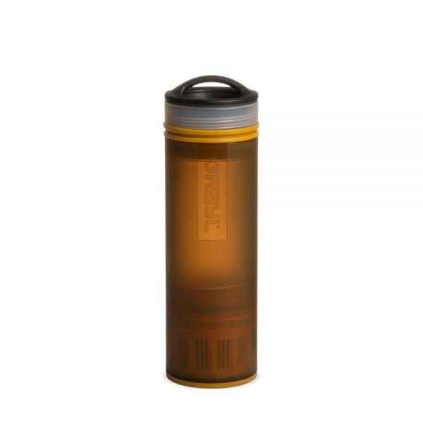 Grayl Ultralight Compact Outdoor- und Reisewasserfilter, Coyote Amber