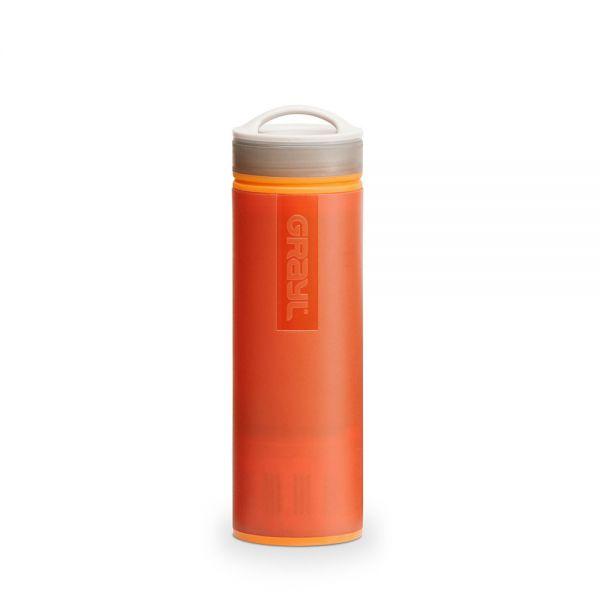 Grayl Ultralight Outdoor- und Reisewasserfilter, orange