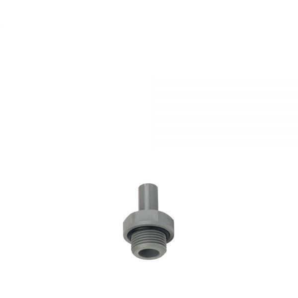 Adapter DM 3/8 Zoll Steckverbinder für den Anschluss von Panzerschläuchen