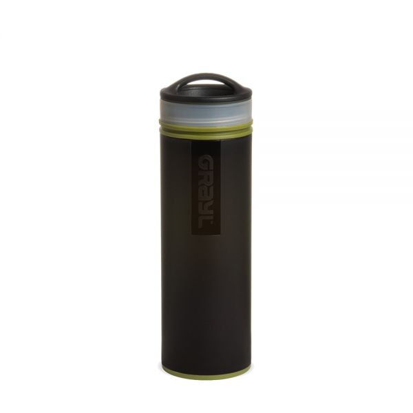 Grayl Ultralight Compact Outdoor- und Reisewasserfilter, Camo Black