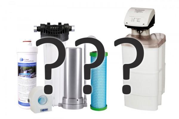 Wasserfiltertechniken