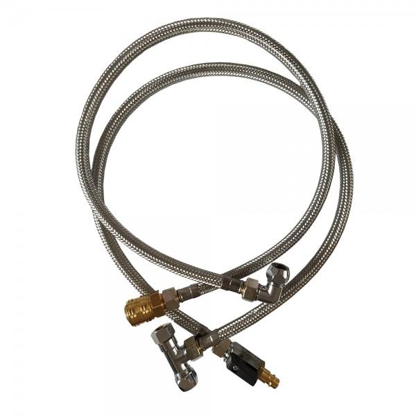 Reinforced hose set for VARIO HP by Carbonit