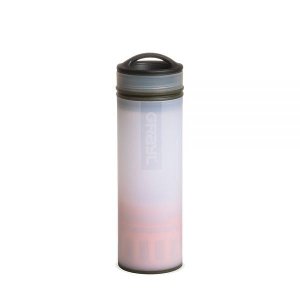 Grayl Ultralight Compact Outdoor- und Reisewasserfilter, Alpine White