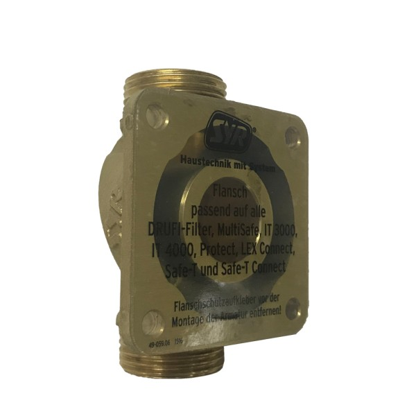 Universal flange DN 25 for LEX PLUS 10 Connect S